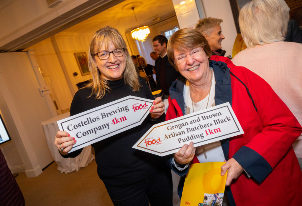 At the Food Strategy launch were Mairead Rohan and Maura Joyce