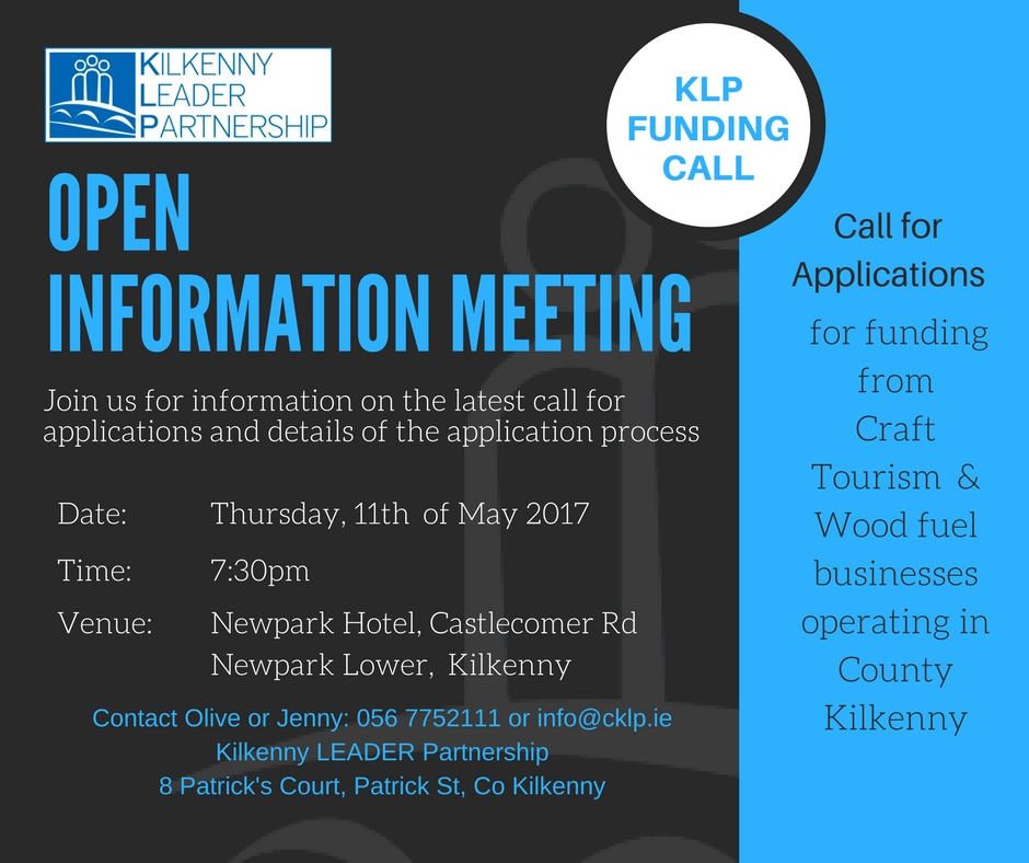 Contact Olive or Jenny_ 056 7752111 or info@cklp.ie copy