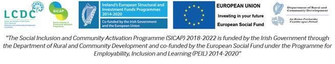 SICAP logo and tagline