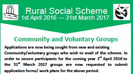 Recruiting: Rural Social Scheme Community Applications