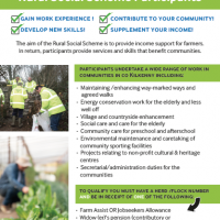 The Rural Social Scheme is Recruiting