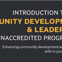 New Course in Community Development & Leadership