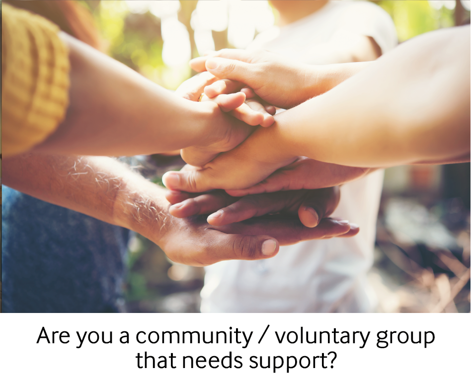 are you a community group